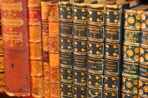Books, Old Books, Leather Books, Book, Old, Knowledge