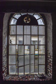 Lost Places, Window, Pforphoto, Old, Building