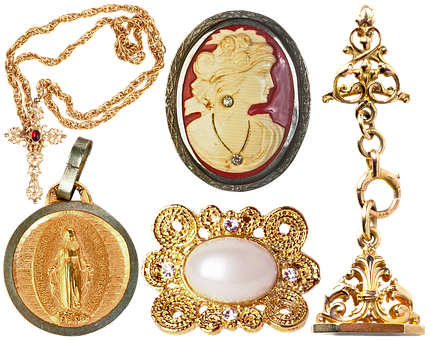 Jewelry, Pendant, Cross, Chain, Brooch, Cameo, Luxury