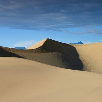 Dunes, Sand Dune, Desert, Sand, Landscape, Dry, Nature