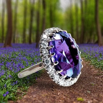 Jewellery, Ring, Gem, Woman, Diamond, Before, Silver