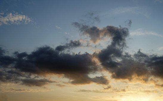 Sky, Clouds, Nature, Light, Scenic, Atmosphere, Mood