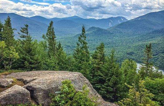 Mount Jo, Adirondacks, New York, Sky, Nature, Landscape