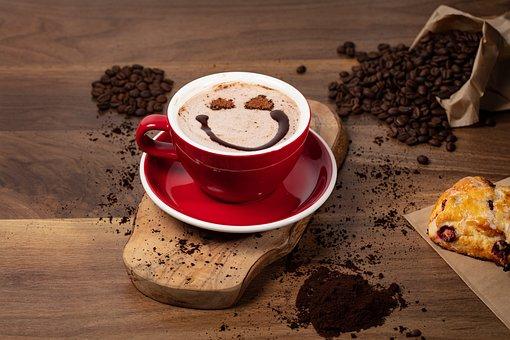 Hot Chocolate, Smiley, Coffee