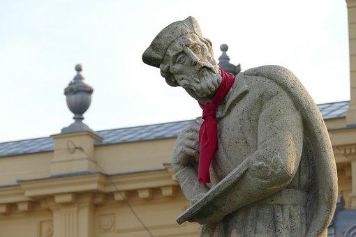 Zagreb, Statue, Sculpture, Monument