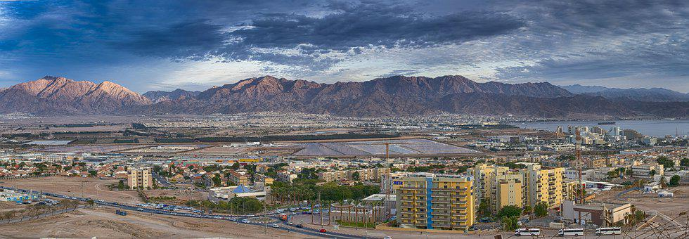 Scenery, Israel, The Mountains, Eilat