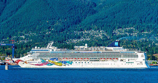 Cruiseship, Tourism, Travel, Vacation, Ocean, Summer