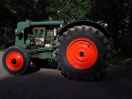 Tractor, Bulldog, Tractors, Working Machine, Oldtimer