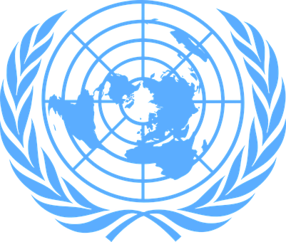 United Nations, Blue, Logo, Uno