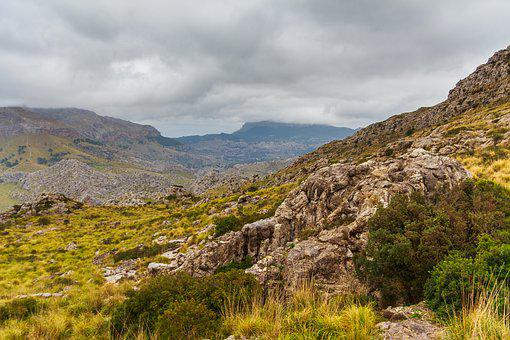 Mallorca, Mountains, Vacations, Hiking, Travel, Clouds