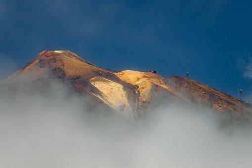 Teide, Mountain, Panorama, Vacations, Travel, Island