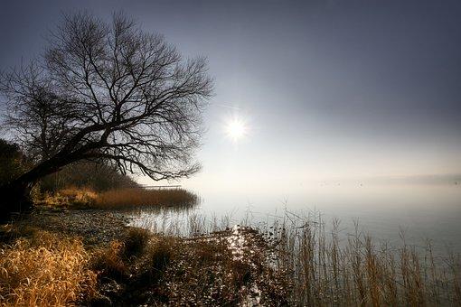 Lake, Sunset, Water, Landscape, Waters, Abendstimmung