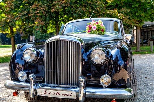 Bentley, Wedding Car, Oldtimer, Wedding, Bridal Cars