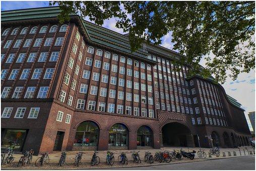 Chile House, House, Facade Of Hamburg, Window