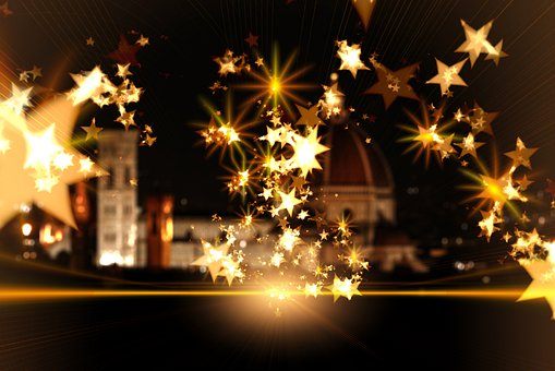 Christmas, Star, Dom, Florence, Advent, Background