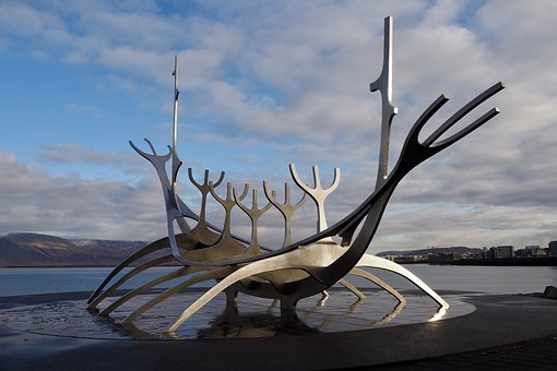 Sculpture, Iceland, Reykjavik, Artwork