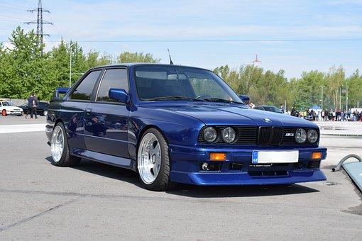 Bmw, M3, E30, Glossy, Motorsport, Automobile, Quickly