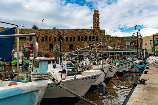 Israel, Culture, Old City, Old Akko, Acre, Port, Church