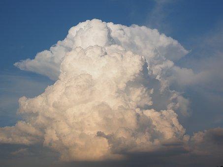 Cumuluswolke, Cumulus, Cloud, Atmosphere
