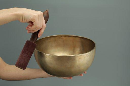 Singing Bowls, Bronze, Tibet, Esoteric, Sound