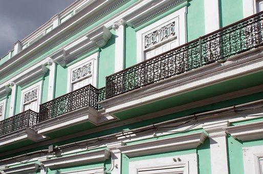 Cuba, Trinidad, Facades, Colonial