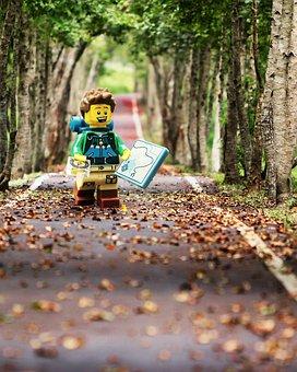 Lego, Forest, Nature, Mini-figure, Adventure, Wood