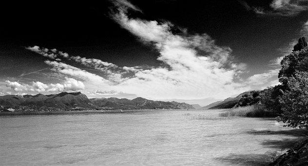 Garda, Italy, Vacations, Lake, View, Summer, Travel