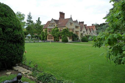 Hotel, Garden, Architecture, England, Landscape, Luxury