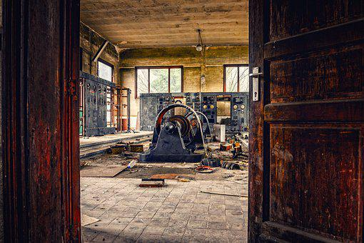 Factory, Industry, Lost Places, Power Plant, Generator