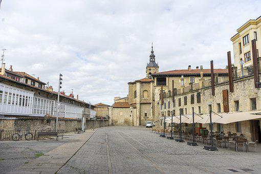 Architecture, Plaza, Church, Historical, Vitoria