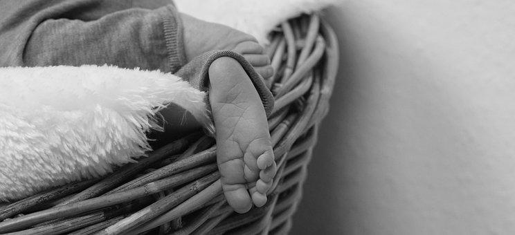 Baby Feet, Newborn, Baby, Infant, Birth, Joyful Event