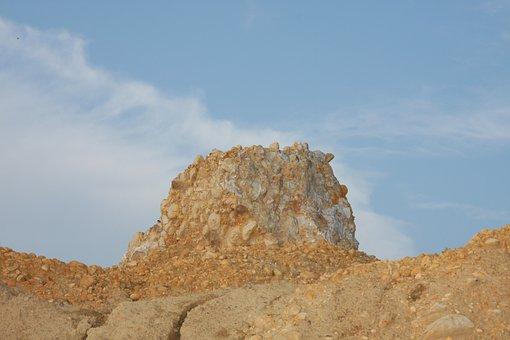 Kaolin, Sand, Nature, Stones, Pebble, Weathering
