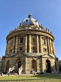 Oxford, Library, University, England, Old, Architecture