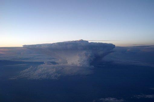 Sky, Clouds, Nature, Light, Evening, Thunderstorm