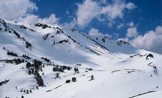 Winter, Snow, Maintains, Clouds, Nature, Landscape