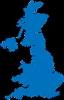 United, Kingdom, Map, Great
