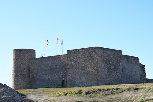 Merida, Soria, Castilla, Castle, Fortification, Defense