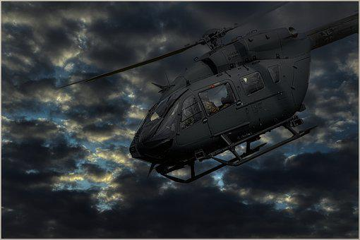 Helicopter, Military, Soldiers, Sky, Army, Soldier