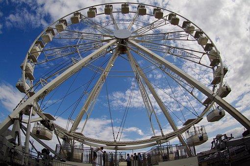 Fairground, Scarborough, Fair, Ride