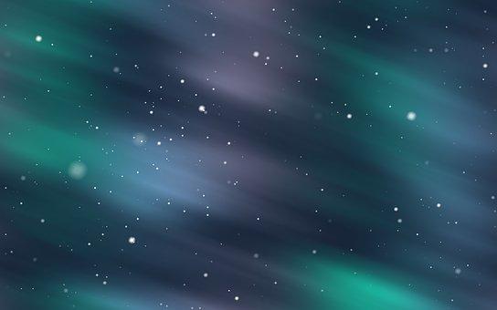 Light, Color, Snow, Sky, Aurora, Star, Night