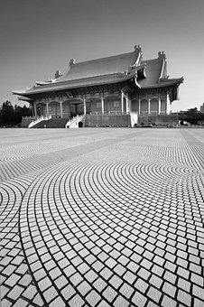 Taiwan, Freedom Square, Taipei, Square, China, Asia