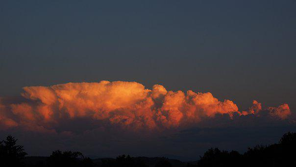 Thundercloud, Cloud, Storm, Atmosphere, Dramatic