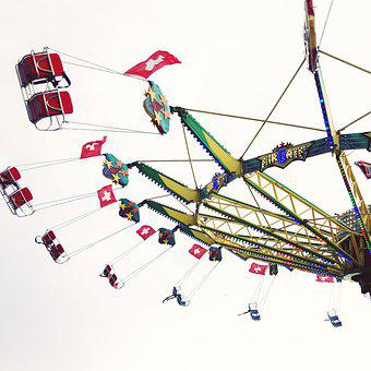 Swing, Entertainment, Carnival, Park, Movement, Leisure