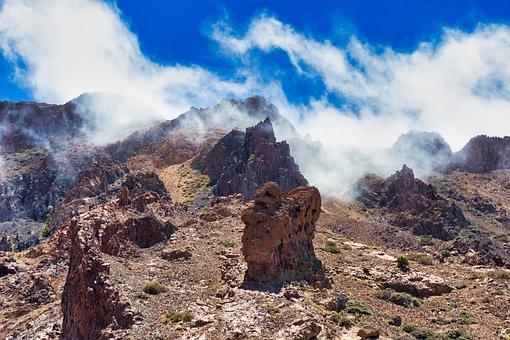 Teide National Park, Tenerife, Karg, Lunar Landscape
