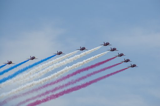 The Red Arrows, They, Airshow