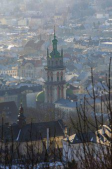 Lviv, City, Ancient, Old, Ukraine, Tourism, Church