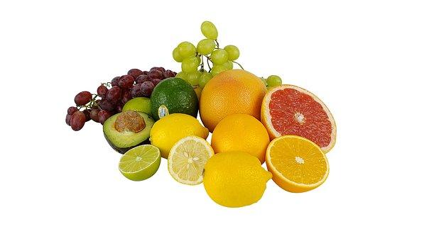 Fruit, Tropical Fruits, Bananas, Tropical, Grapefruit