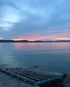 Geneva Lake, Lausanne, Blue, Lake, Switzerland, Water