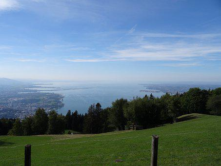 Lake Constance, Water, Lake, Landscape, Nature, Bregenz