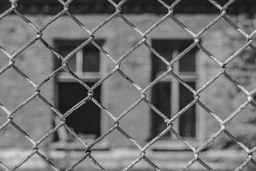 Fence, Windows, House, Building, Architecture, Lattice
